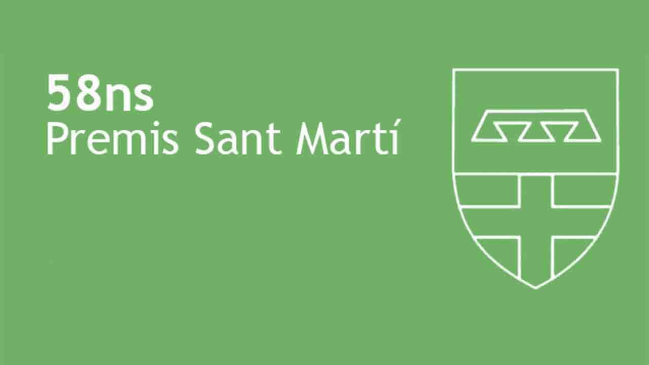 58 Premios Sant Martí correspondientes a la edición de 2020