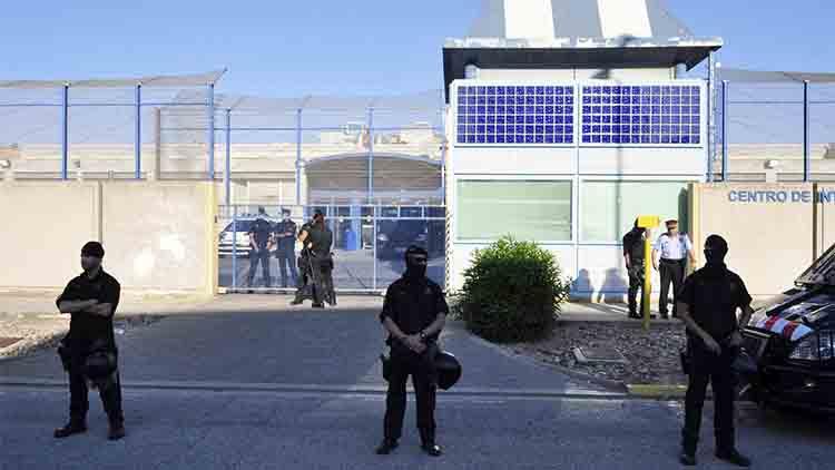 Concentración en la Zona Franca para exigir el cierre del CIE
