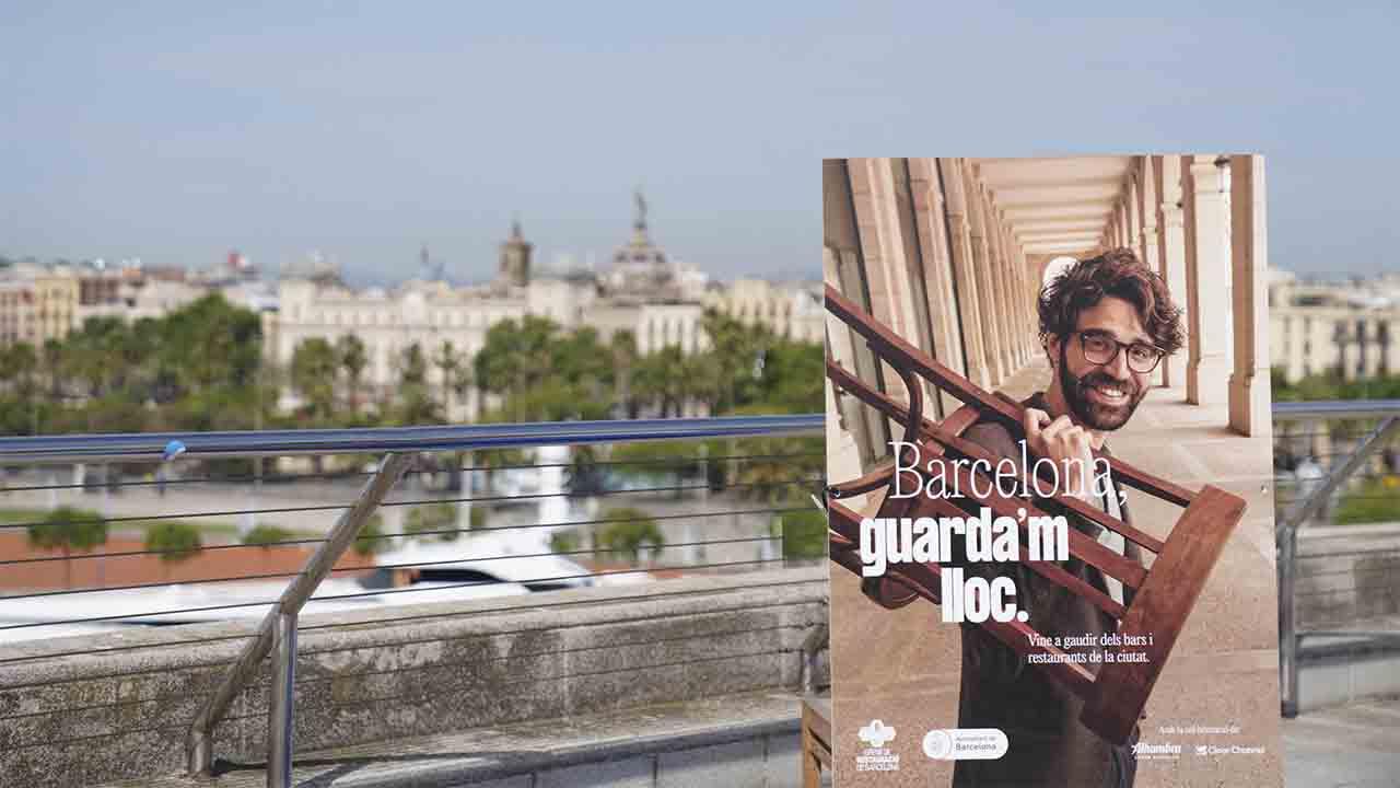 El Ayuntamiento y el Gremio de Restauración inician la campaña 'Barcelona, guarda'm lloc'