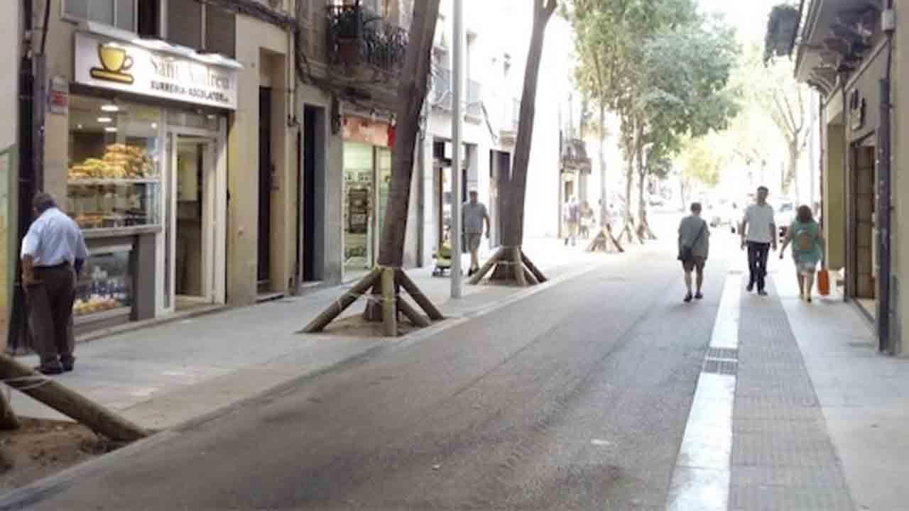 Gran de Sant Andreu modifica el sentido de circulación en un tramo