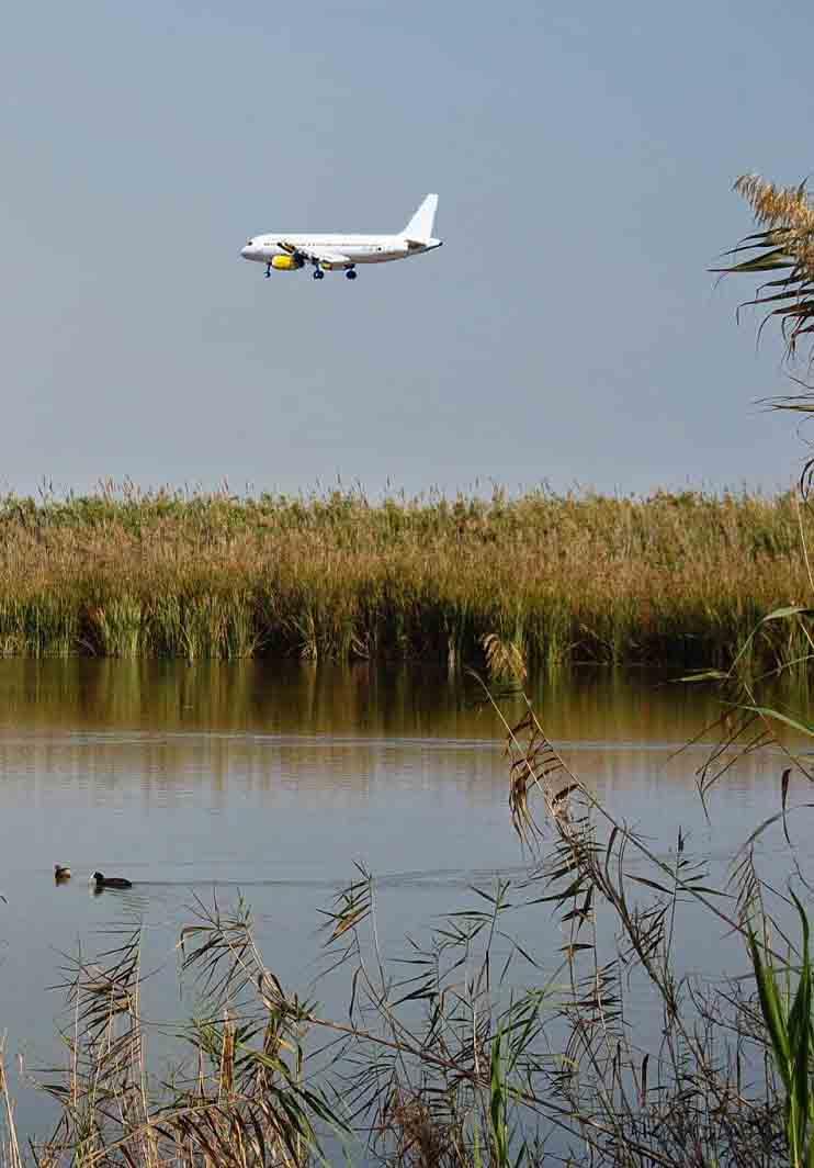 La Generalitat invita a Europa a visitar la zona de ampliación del Aeropuerto