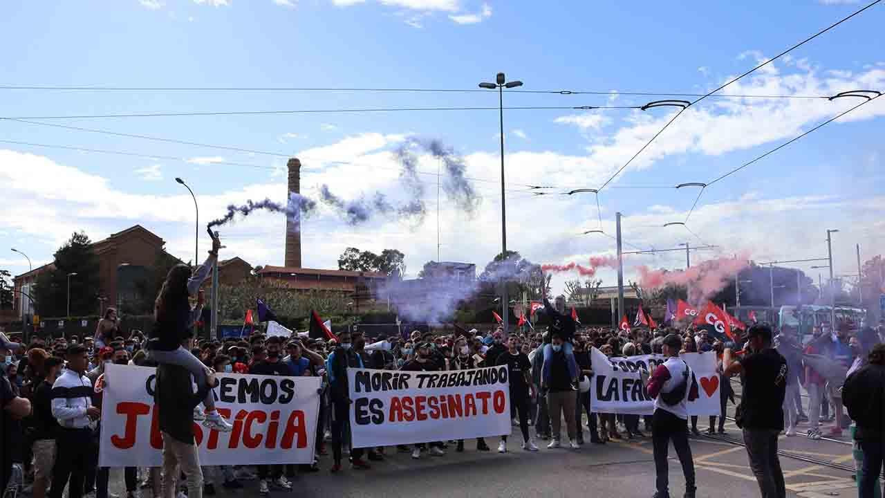 Sanción a la empresa CIDAC de Cornellà donde murió un joven de 19 años