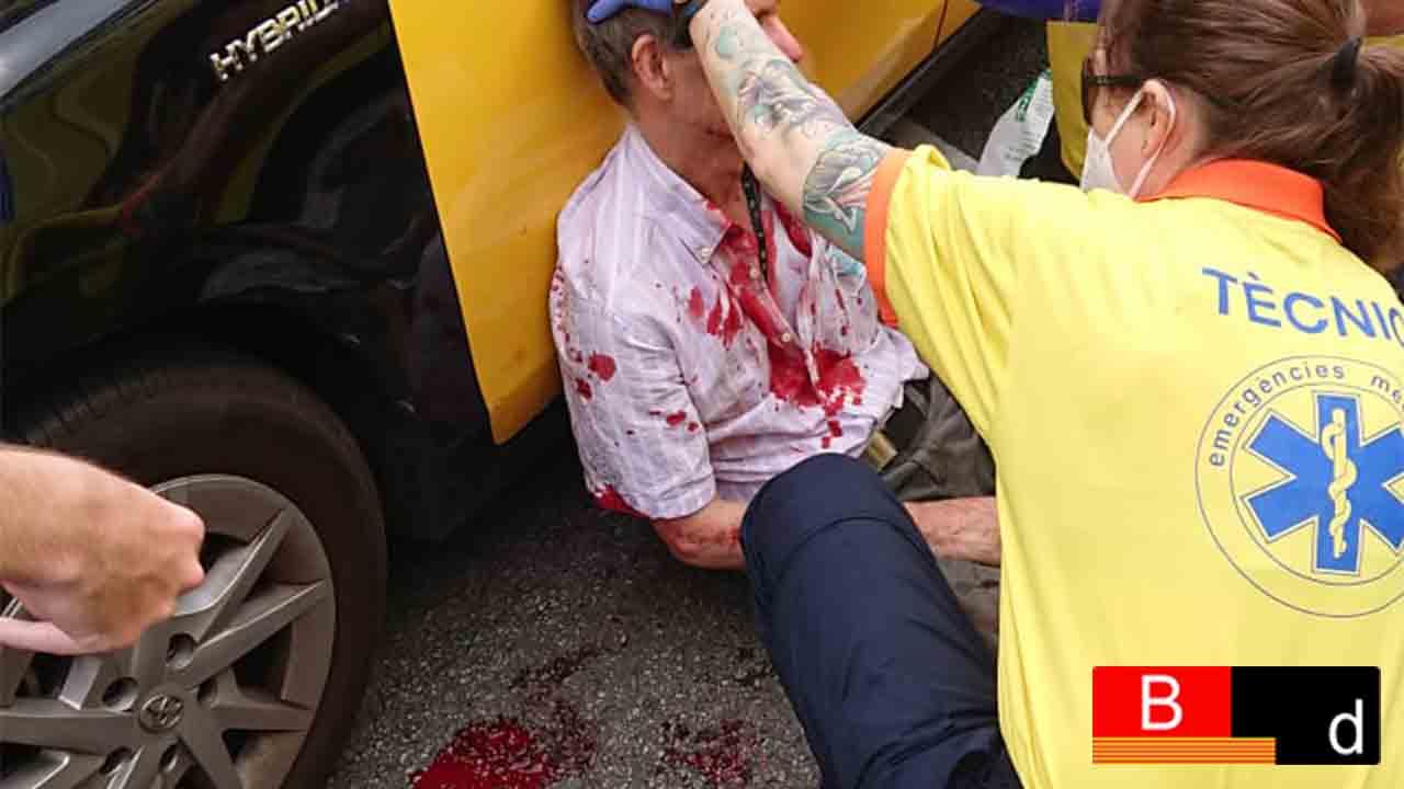Agredido un taxista en Travessera de les Corts