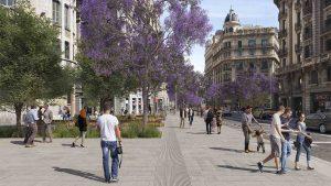 El Ayuntamiento aprueba el proyecto definitivo de Via Laietana