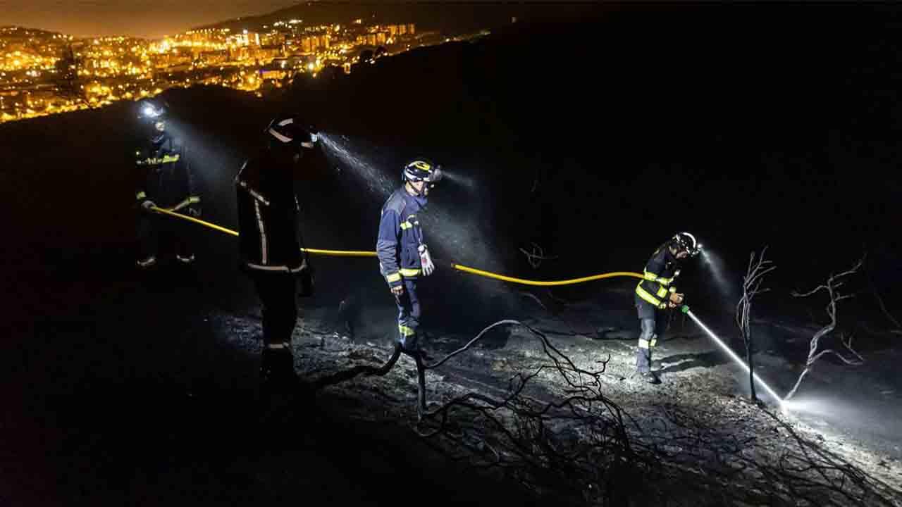Prisión para un hombre como responsable de varios incendios en Collserola