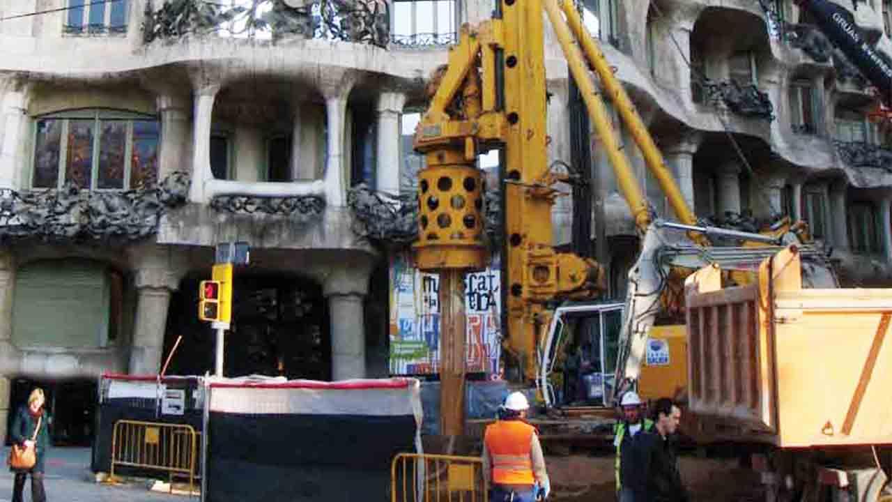 Finalizan las obras de las salidas de emergencia del tunel Sants-La Sagrera