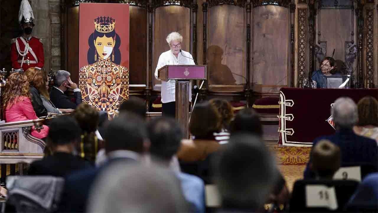 El pregón de Custodia Moreno abre la Mercè 2021