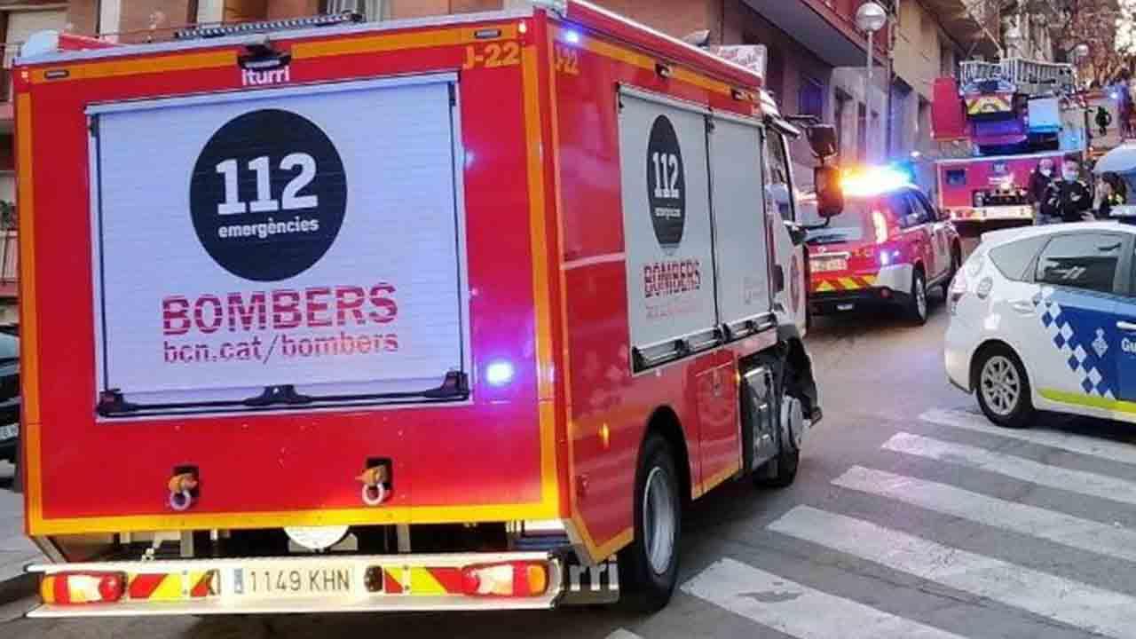 Muere una mujer de 87 años en un incendio en Sant Martí de Provençals