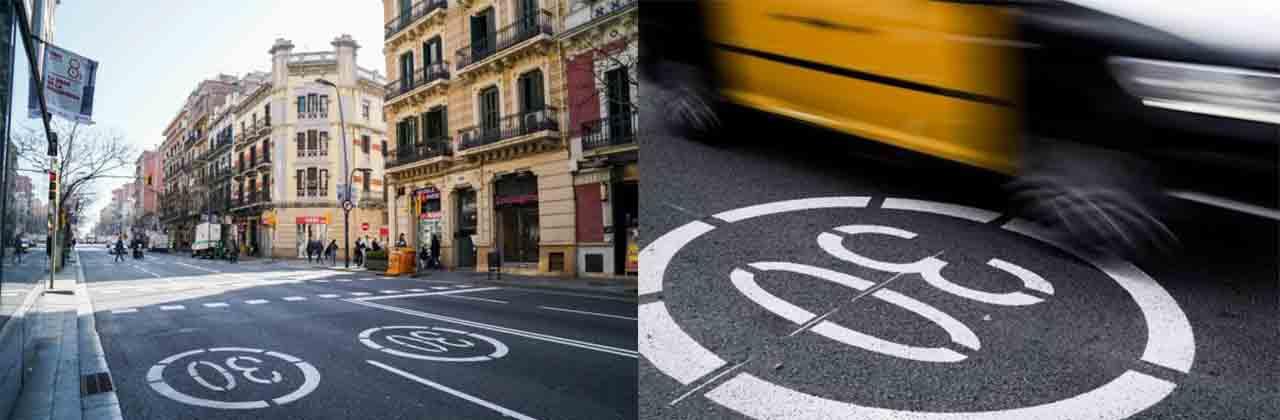 Ampliación de la red de la ciudad con nuevos carril bici