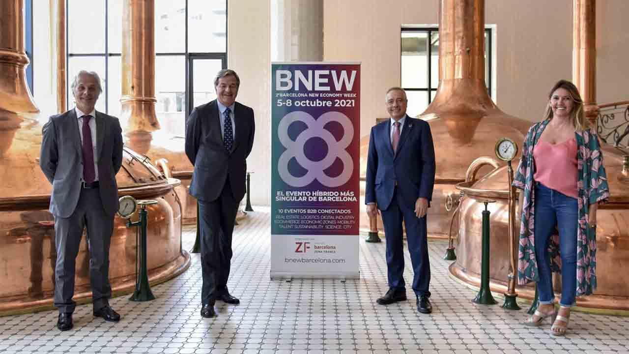 Barcelona New Economy Week estará en la Antigua Fábrica Damm