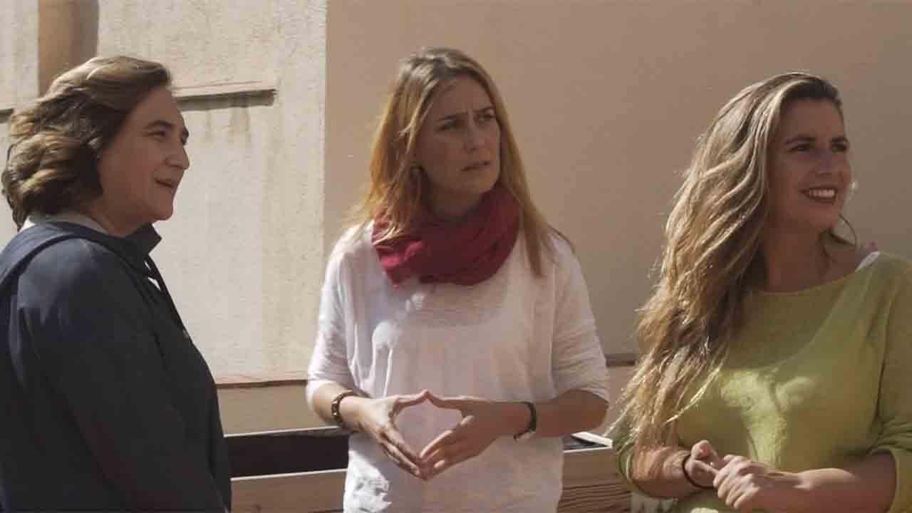 Colau, López y Albiach se presentan a la reelección de Catalunya en Comú