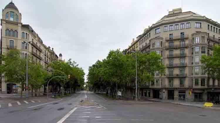 La pandemia impacta en la población de Barcelona