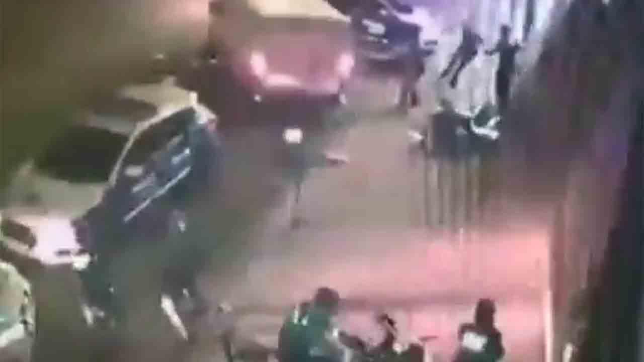Tiroteos en una espectacular persecución policial en Sabadell